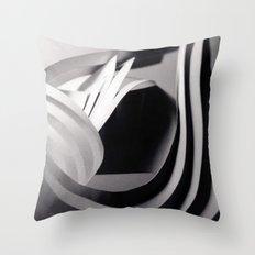 Paper Sculpture #4 Throw Pillow