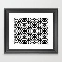 Vogelaar Black & White P… Framed Art Print