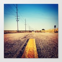 Canvas Print featuring Open Road by Daniel Clifford