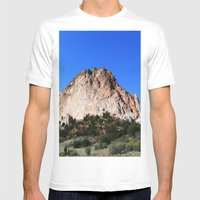 Garden Of The Gods Mens Fitted Tee White SMALL
