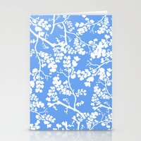 cherry blossom Stationery Cards featuring Cherry Blossom by Elena O'Neill