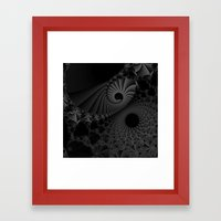 Finding the way out Framed Art Print