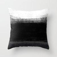 Ocean No. 2 - Minimal Oc… Throw Pillow