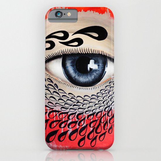Tears Flow iPhone & iPod Case