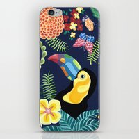 Natures Confetti Toucan iPhone & iPod Skin