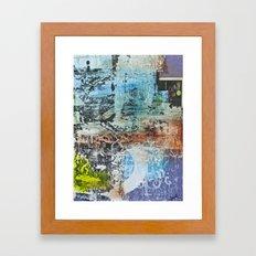 walls #4 Framed Art Print