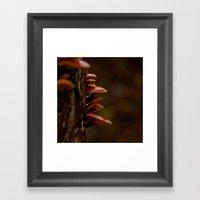 Mushrooms. Framed Art Print