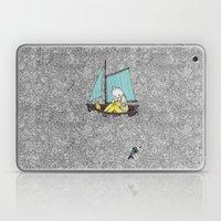 Old Man and the Sea Laptop & iPad Skin