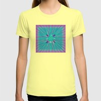Cracked! Womens Fitted Tee Lemon SMALL