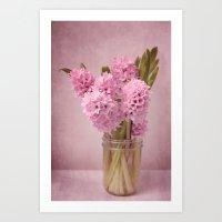 Hyacinth 2 Art Print