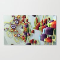 Double Diddle Eviscerati… Canvas Print