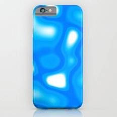 Blue and White Abstract iPhone 6 Slim Case