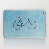I ♥ BIKES Laptop & iPad Skin