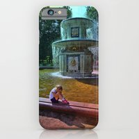 iPhone & iPod Case featuring Fountain kids 2 by Li9z