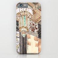 inside the Art Deco spaceship iPhone 6 Slim Case