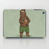 Traditional German Bear iPad Case