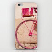 Lady In Pink iPhone & iPod Skin