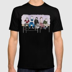 The Breakfast Club Mens Fitted Tee SMALL Black