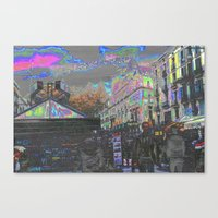 Arrived And Built Upon, … Canvas Print