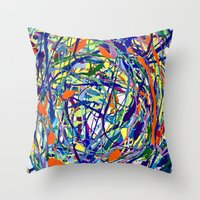 Chaos Throw Pillow