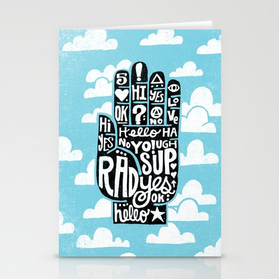 HIGH FIVE ALIVE Stationery Card