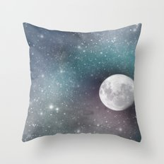 Cosmic Print  Throw Pillow