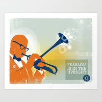 FEARLESS: Is In The Upright Art Print