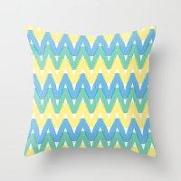 Summer Pattern 1 Throw Pillow