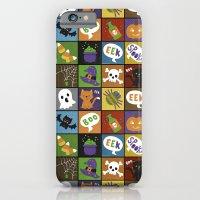 Halloween Doodles iPhone 6 Slim Case