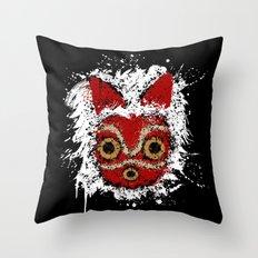 Mononoke fanart Throw Pillow