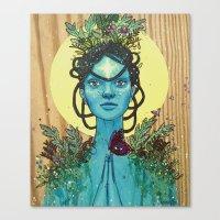 Meditation on Mother Nature Canvas Print