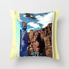 Chiricahua Range Throw Pillow
