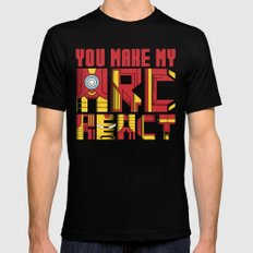 You Make My Arc React  Mens Fitted Tee SMALL Black