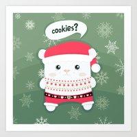 cookies? Art Print
