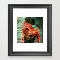 Wanted, In Secret Framed Art Print