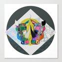 Rhino And RhInO Canvas Print