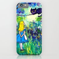 Alice in Wonderland Monet-style iPhone 6 Slim Case