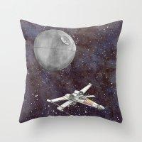 A War In The Stars In Wa… Throw Pillow