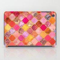 Hot Pink, Gold, Tangerin… iPad Case