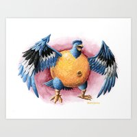 Can It Fly? Art Print