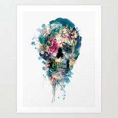 Skull ST III Art Print