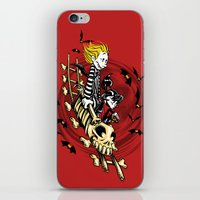 Calvydia And Beetlehobbe… iPhone & iPod Skin