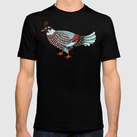 Pheasant Noble 2 Mens Fitted Tee Black SMALL
