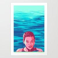 Flaqueza Art Print