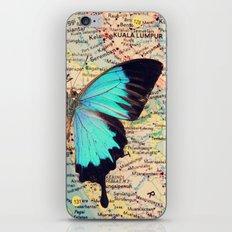 Flying home! iPhone & iPod Skin