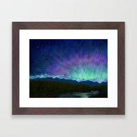 Arctic Aura - Painting Framed Art Print