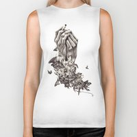 Pray For Nature Biker Tank