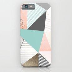 Pastel sunrise iPhone 6 Slim Case