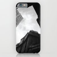 iPhone & iPod Case featuring Through the city by Javier Díaz F.