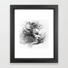 Viento Framed Art Print